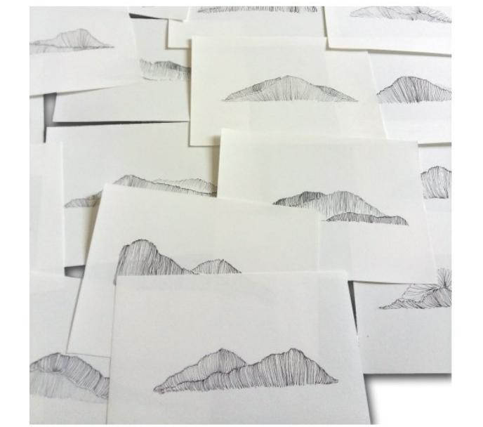 Anna Moraes. territórios anna. Desenhos. Caneta sobre papel 300g,15x20cm cada, 20